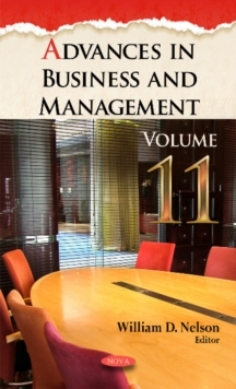 Advances in Business & Management : Volume 11, Hardback Book