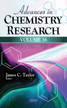 Advances in Chemistry Research : Volume 36, Hardback Book