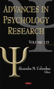 Advances in Psychology Research : Volume 125, Hardback Book