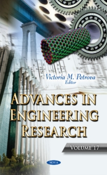 Advances in Engineering Research : Volume 17, Hardback Book