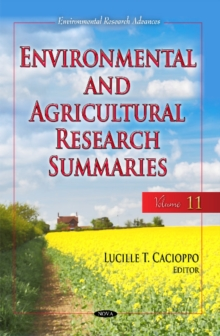 Environmental & Agricultural Research Summaries (with Biographical Sketches) : Volume 11, Hardback Book