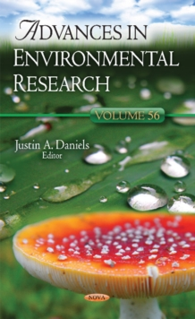 Advances in Environmental Research : Volume 56, Hardback Book