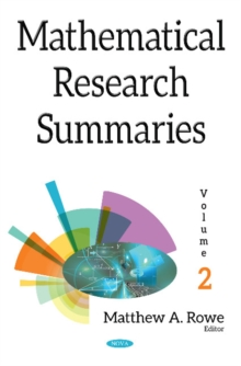 Mathematical Research Summaries (with Biographical Sketches) : Volume 2, Hardback Book