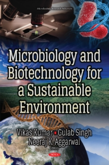 Microbiology & Biotechnology for a Sustainable Environment, Hardback Book