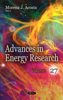 Advances in Energy Research : Volume 27, Hardback Book