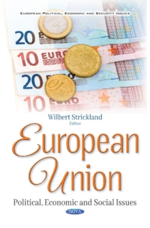 European Union : Political, Economic & Social Issues, Paperback Book