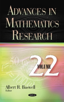 Advances in Mathematics Research : Volume 22, Hardback Book