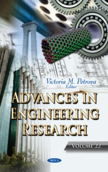 Advances in Engineering Research : Volume 22, Hardback Book