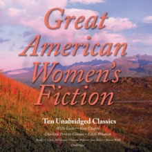 Great American Women's Fiction, eAudiobook MP3 eaudioBook