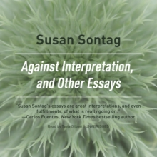 Against Interpretation, and Other Essays, eAudiobook MP3 eaudioBook