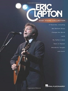 ERIC CLAPTON EASY PIANO COLLECTION, Paperback Book