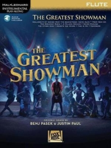 Instrumental Play-Along : The Greatest Showman - Flute (Book/Online Audio), Paperback / softback Book