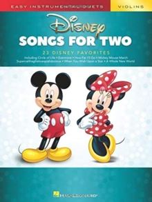 Easy Instrumental Duets : Disney Songs For Two Violins, Paperback / softback Book