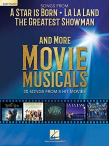 Songs From A Star Is Born, La La Land, The Greatest Showman And More Movie Musicals Easy Piano, Paperback / softback Book