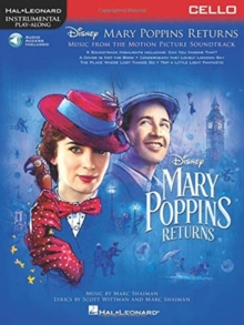 Instrumental Play-Along : Mary Poppins Returns - Cello (Book/Online Audio), Paperback / softback Book