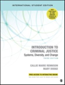 Introduction to Criminal Justice - International Student Edition : Systems, Diversity, and Change, Mixed media product Book
