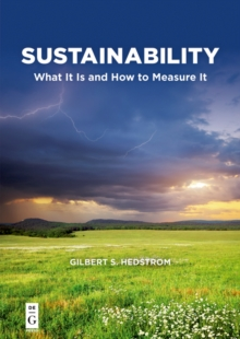 Sustainability : What It Is and How to Measure It, EPUB eBook