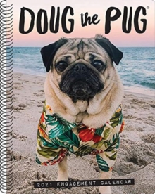 Doug the Pug 2021 Engagement Calendar (Dog Breed Calendar), Calendar Book
