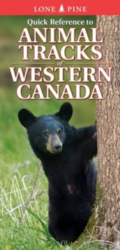 Quick Reference to Animal Tracks of Western Canada, Fold-out book or chart Book