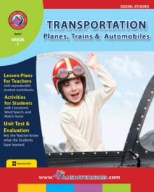 Transportation: Planes, Trains & Automobiles Gr. 1, PDF eBook