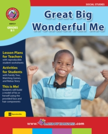 Great Big Wonderful Me Gr. K-1, PDF eBook