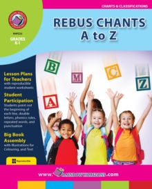 Rebus Chants A to Z Gr. K-1, PDF eBook