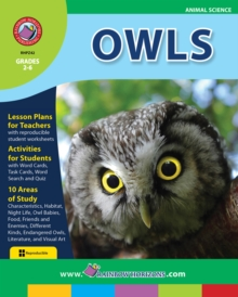 Owls Gr. 2-6, PDF eBook