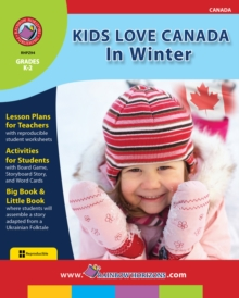 Kids Love Canada: In Winter Gr. K-2, PDF eBook