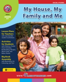 My House, My Family and Me Gr. K-1, PDF eBook