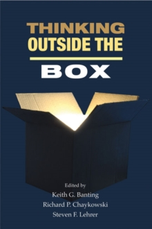 Thinking Outside the Box : Innovation in Policy Ideas, Paperback Book