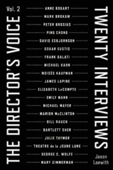 The Director's Voice, Vol. 2, Paperback Book