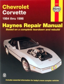 Chevrolet Corvette (84 - 96), Paperback / softback Book