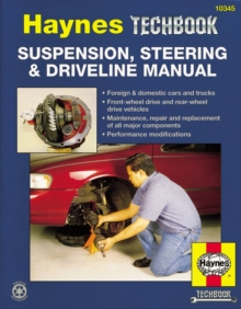 Suspension, Steering And Driveline Manual, Paperback / softback Book