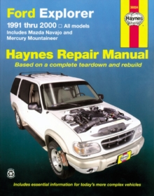 Ford Explorer, Mazda Navajo, Mercury Mountaineer (91 - 05), Paperback Book
