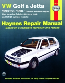 VW Golf & Jetta 93-98, Paperback / softback Book
