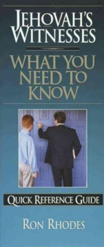 Jehovah's Witnesses: What You Need to Know, Pamphlet Book