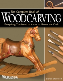 The Complete Book of Woodcarving, Paperback Book