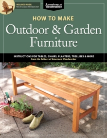 How to Make Outdoor & Garden Furniture, Paperback / softback Book