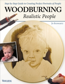 Woodburning Realistic People, Paperback Book