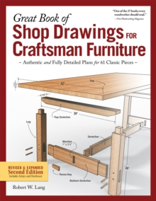 Great Book of Shop Drawings for Craftsman Furniture, Paperback Book