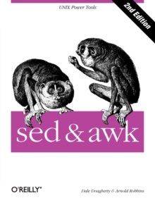 sed and awk, Paperback Book