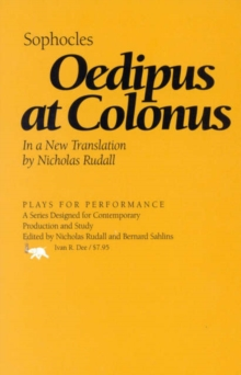 Oedipus at Colonus, Hardback Book