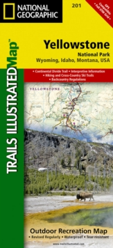 Yellowstone National Park : Trails Illustrated National Parks, Sheet map, folded Book