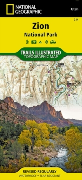 Zion National Park : Trails Illustrated National Parks, Sheet map, folded Book
