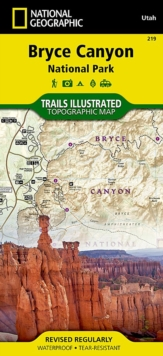 Bryce Canyon National Park : Trails Illustrated National Parks, Sheet map, folded Book