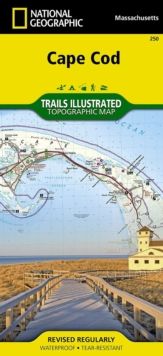 Cape Cod : Trails Illustrated National Parks, Sheet map, folded Book