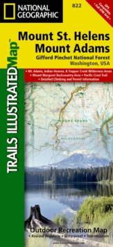 Mount St. Helens/mount Adams (gifford-pinchot National Forest) : Trails Illustrated Other Rec. Areas, Sheet map, folded Book