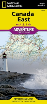 Canada East : Travel Maps International Adventure Map, Sheet map, folded Book