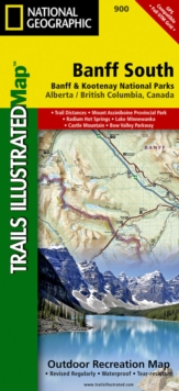 Banff South : Trails Illustrated National Parks, Sheet map, folded Book
