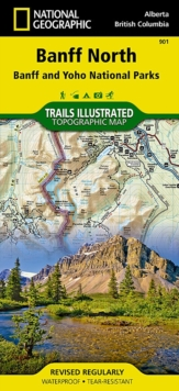 Banff North : Trails Illustrated National Parks, Sheet map, folded Book